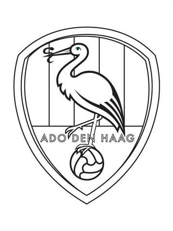 Ajax Spelers Kleurplaten.Kids N Fun 19 Kleurplaten Van Voetbalclubs Nederland