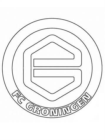 Kleurplaten Voetbal Logo Ajax.Kids N Fun 19 Kleurplaten Van Voetbalclubs Nederland