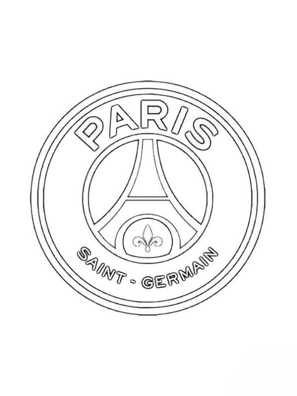 Kleurplaten Van Europa.Kids N Fun Kleurplaat Voetbalclubs Europa Paris Saint Germain