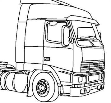 n 15 kleurplaten vrachtwagens