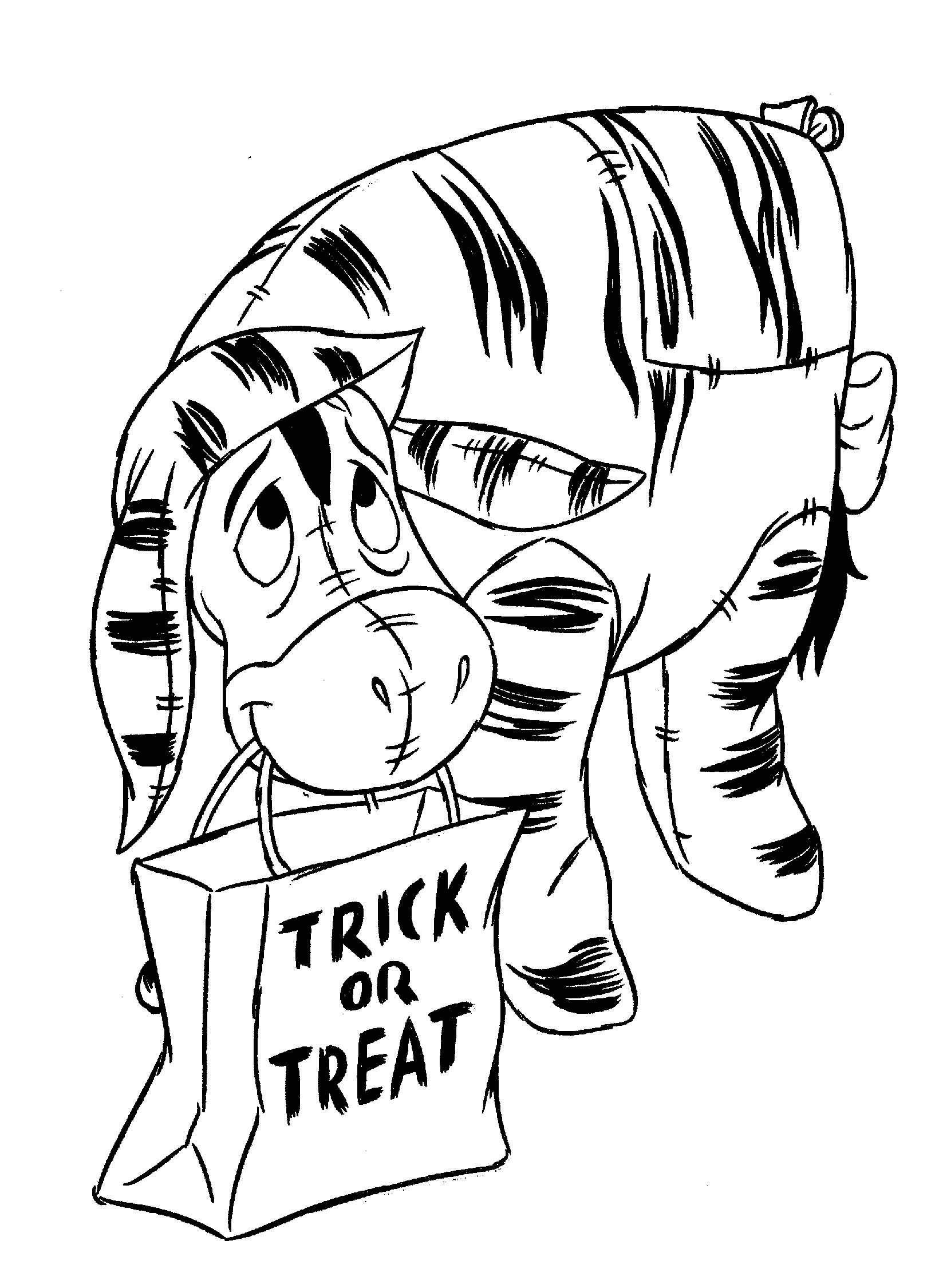 Thema Kleurplaten Halloween.Kids N Fun 19 Kleurplaten Van Halloween