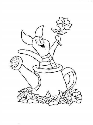Kleurplaten Disney Winnie The Pooh.Kids N Fun 42 Kleurplaten Van Winnie De Pooh En Knorretje
