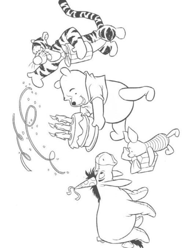 Christelijke Kleurplaten Kinderdoop Kleurplaat Pooh