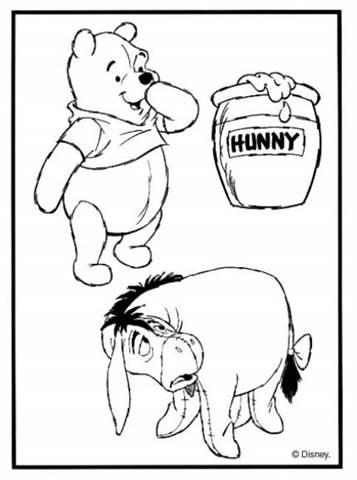 Kleurplaten Winnie The Pooh And Friends.Kids N Fun 94 Kleurplaten Van Winnie De Pooh