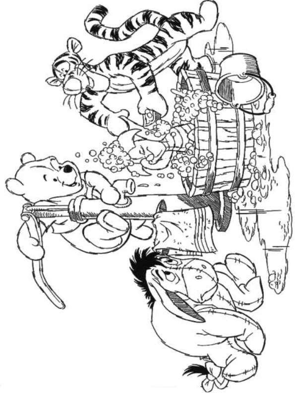 Kids N Fun 94 Kleurplaten Van Winnie De Pooh
