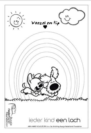 Nieuw Kids-n-fun   21 Kleurplaten van Woezel en Pip GV-53