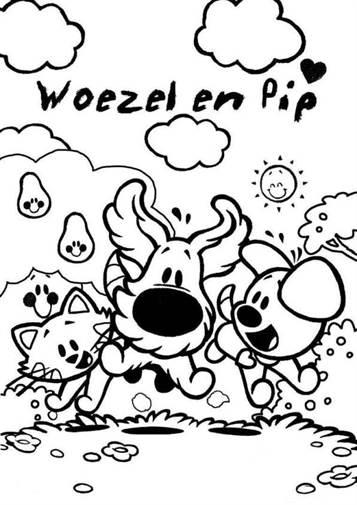Kleurplaat Nijntje Verjaardag Kids N Fun 21 Kleurplaten Van Woezel En Pip