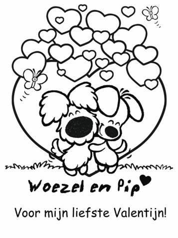 Uitgelezene Kids-n-fun   21 Kleurplaten van Woezel en Pip YR-65