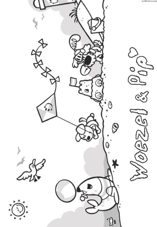 Kids N Fun 21 Kleurplaten Van Woezel En Pip