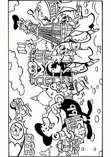 Verwonderend Kids-n-fun | 31 Kleurplaten van Zomervakantie QC-05