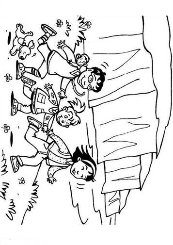 Uitgelezene Kids-n-fun | 31 Kleurplaten van Zomervakantie JV-06