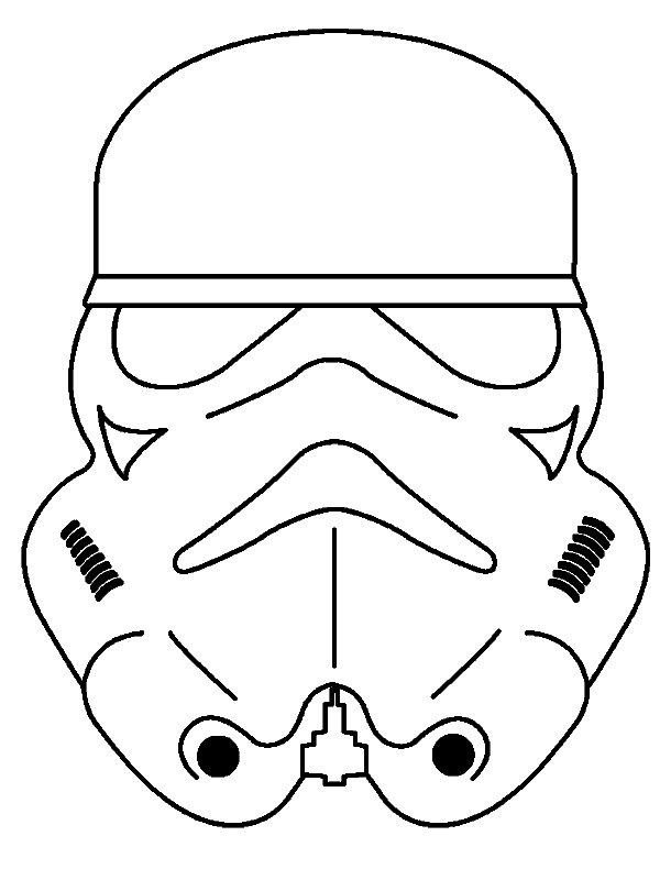 Kleurplaten En Maskers.Kids N Fun Knutselen Maskers Mensen Star Wars