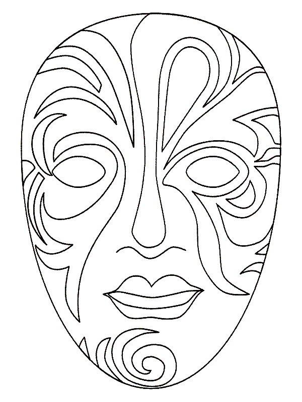 Kleurplaten Enge Maskers.Kids N Fun 16 Knutsels Van Maskers Mensen