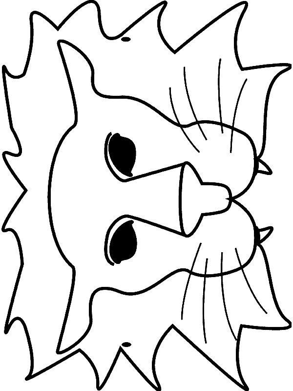 Kleurplaten Van Dieren Maskers.Kids N Fun 18 Knutsels Van Maskers Dieren
