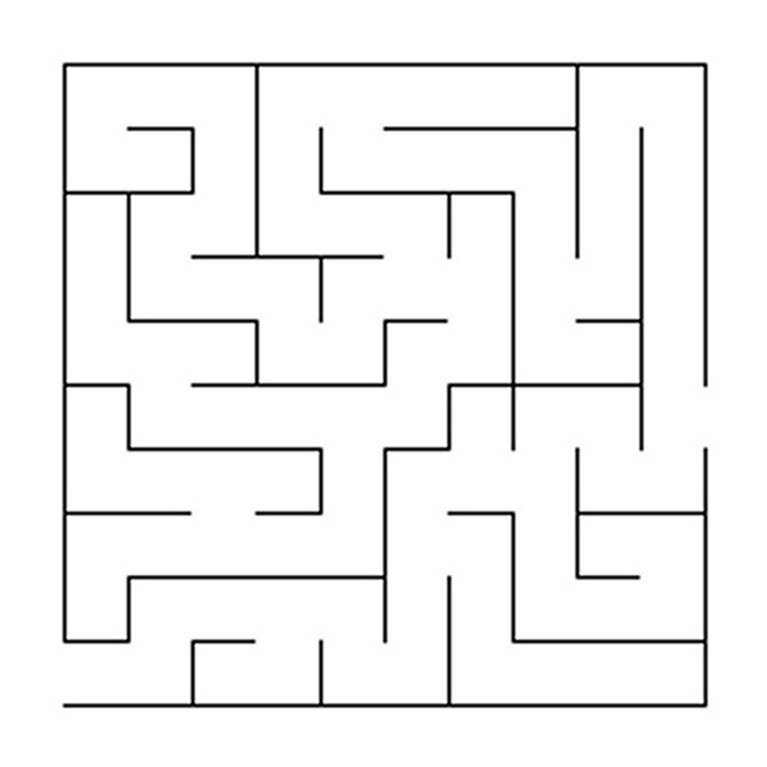 Simple Line Drawing Algorithm : Kids n fun puzzels doolhof