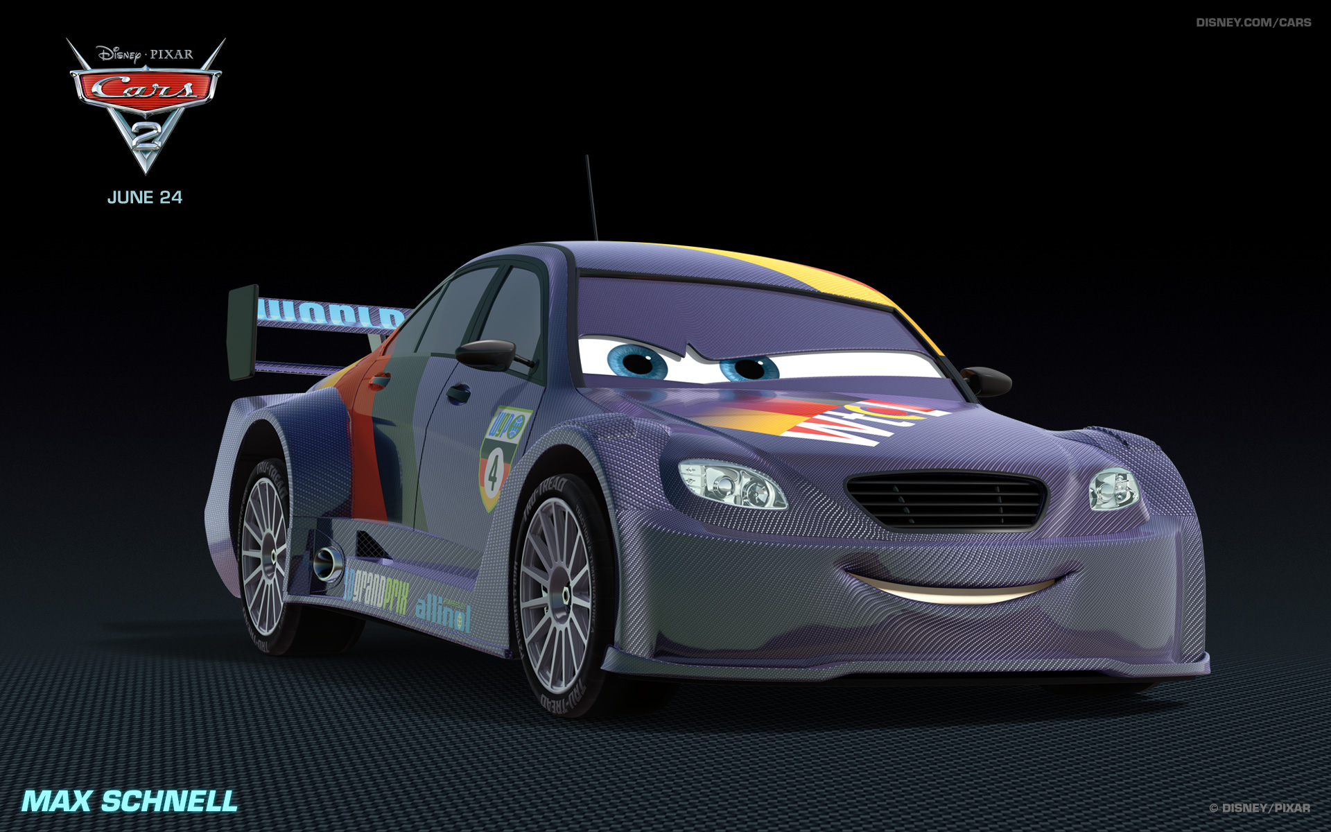 Kids N Fun Wallpaper Cars 2 Max Schnell