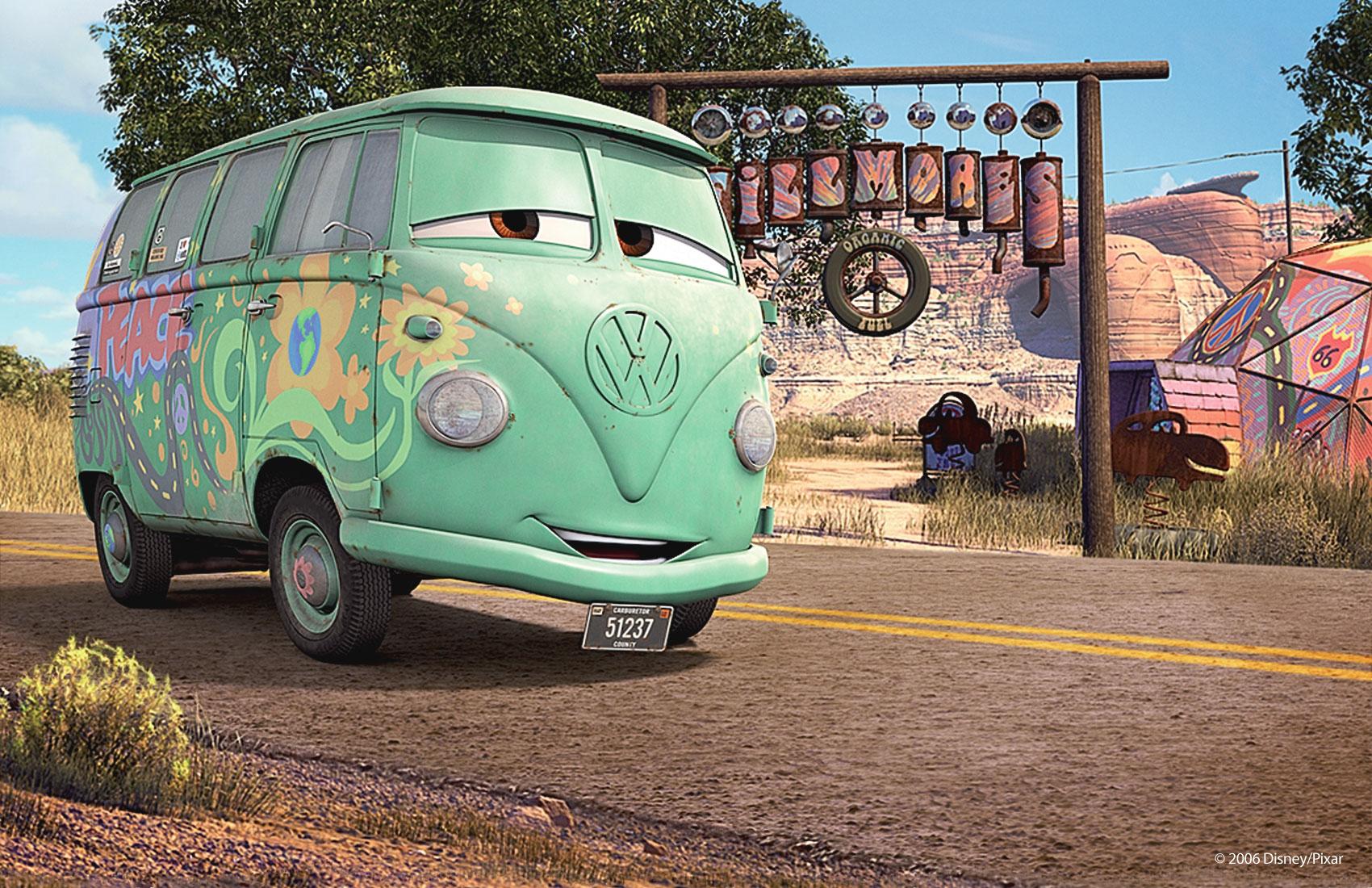 fillmore wallpaper cars pixar. Black Bedroom Furniture Sets. Home Design Ideas