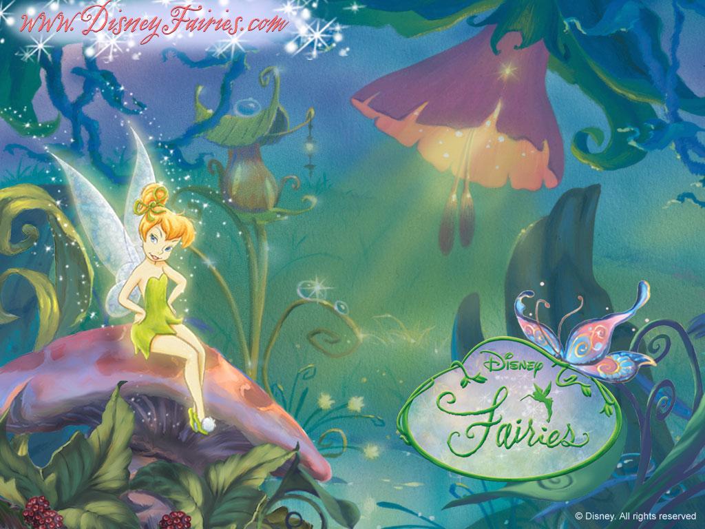 Kids N Fun Wallpaper Elfjes Van Disney