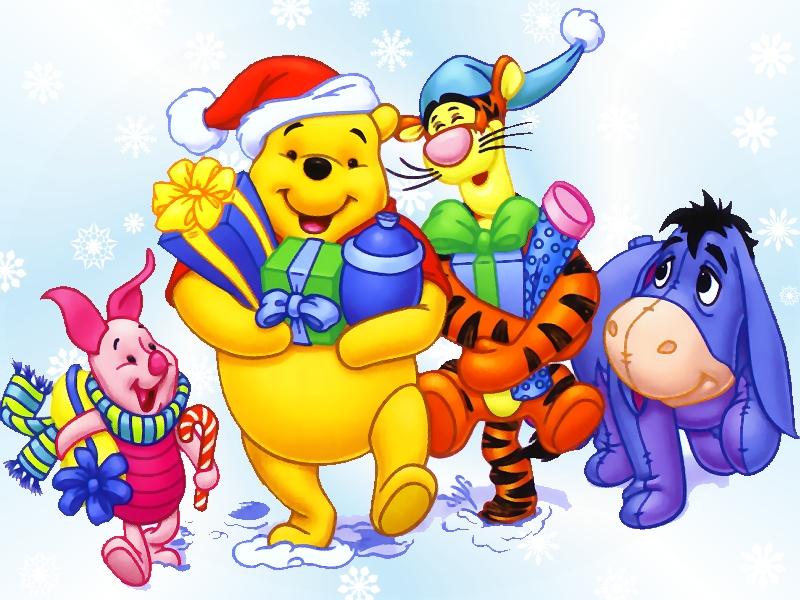 Kids N Fun Wallpaper Kerstmis